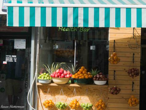Fruit Stand on the Street