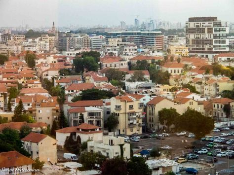 Tel Aviv from our hotel